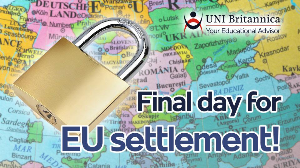 Final day for EU settlement!