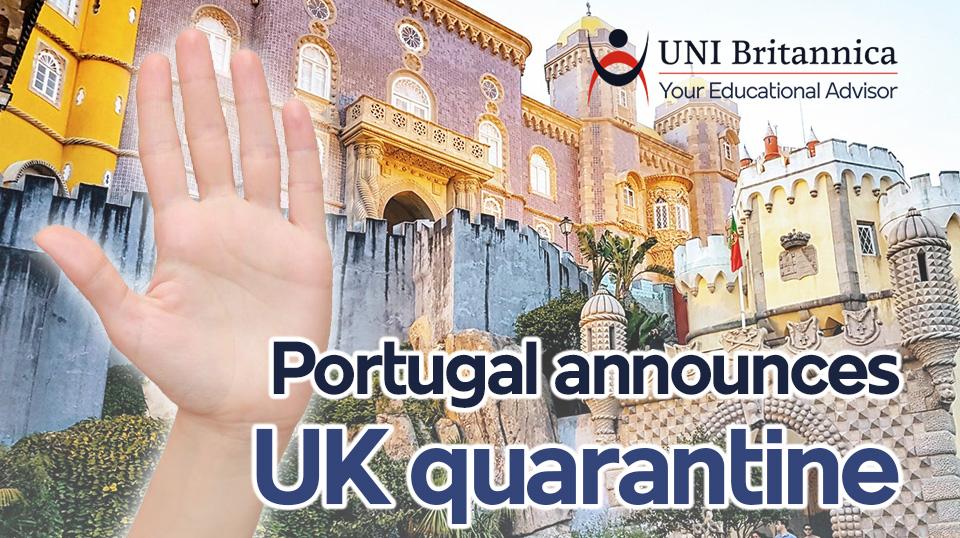 Portugal announces UK quarantine